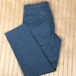 J.Crew Mens Dress Pants Size W 34 Blue